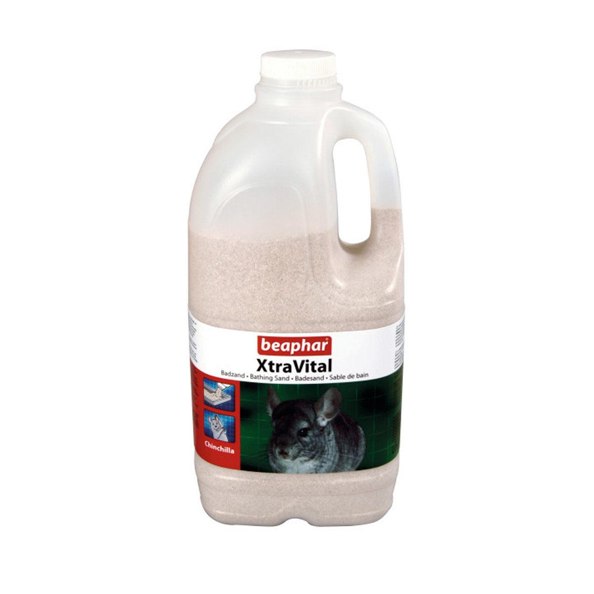 Beaphar Xtravital Chinchilla Badzand 2 liter