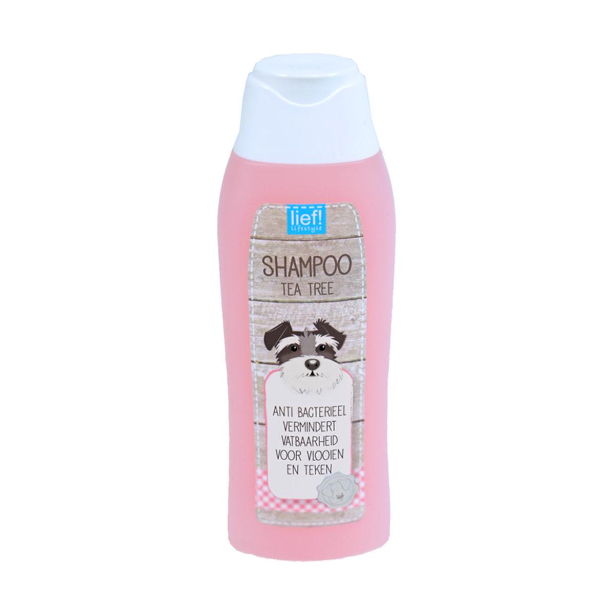 Lief! Honden Shampoo Tea Tree Olie 300ml