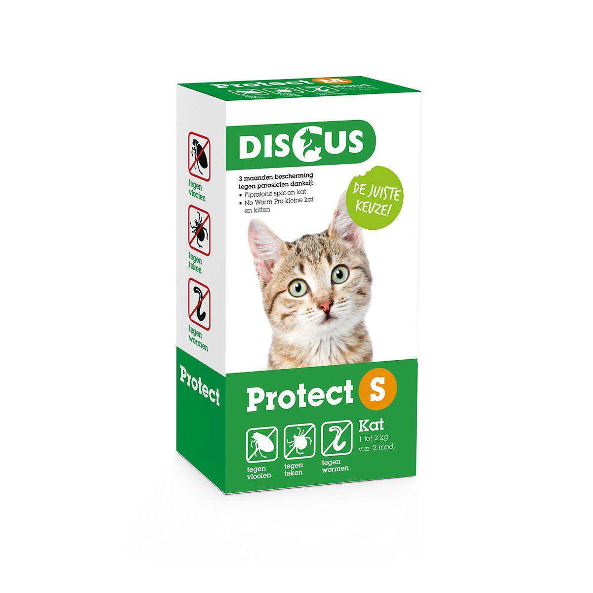 Discus Protect Kat 1-2 kg
