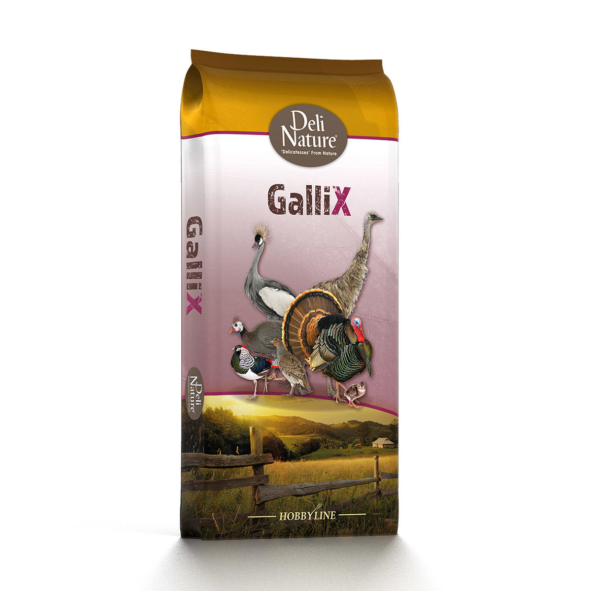 Deli Nature GalliX-Ornamental-Onderhoud-Pellet 20kg