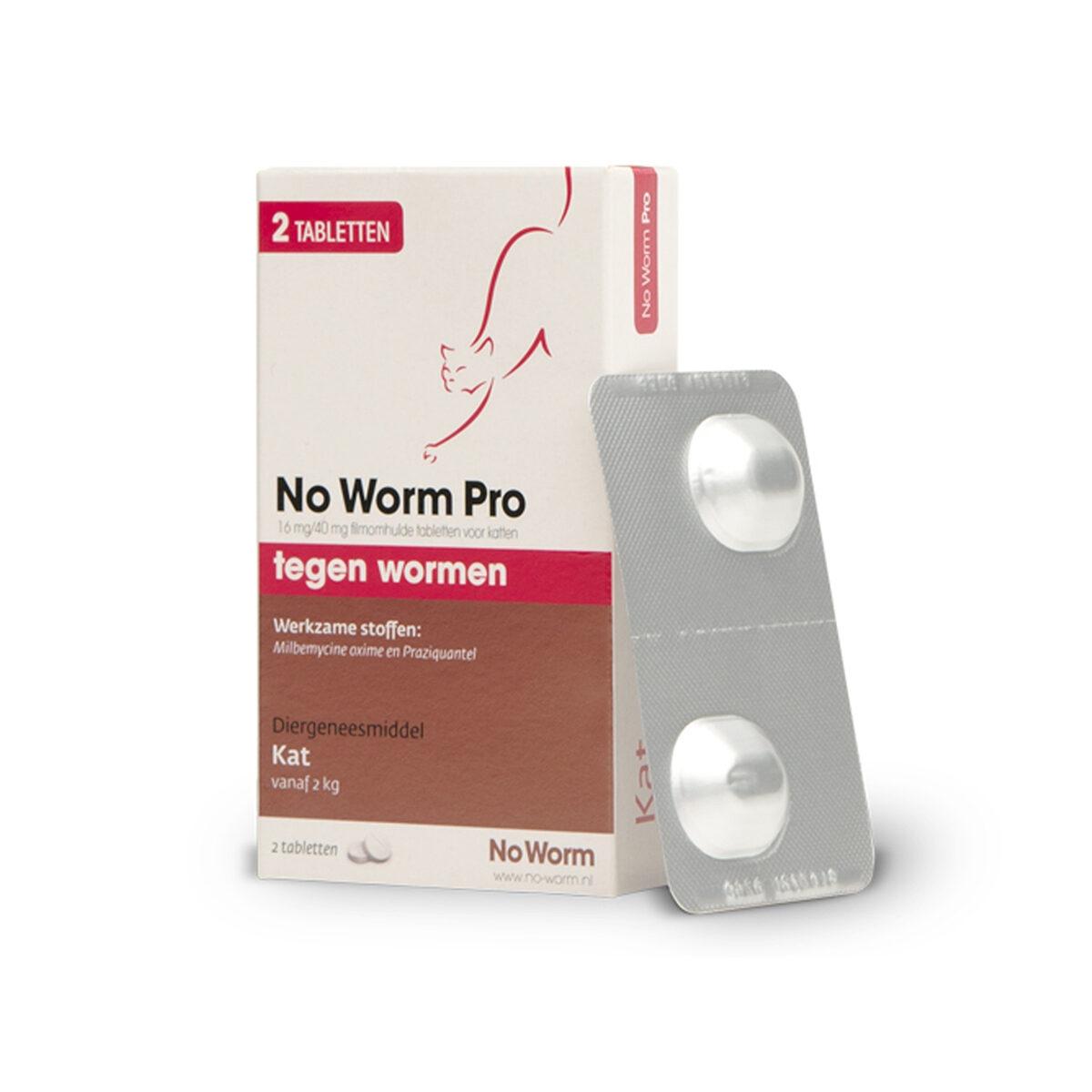No Worm Pro 2 Tabletten Kat
