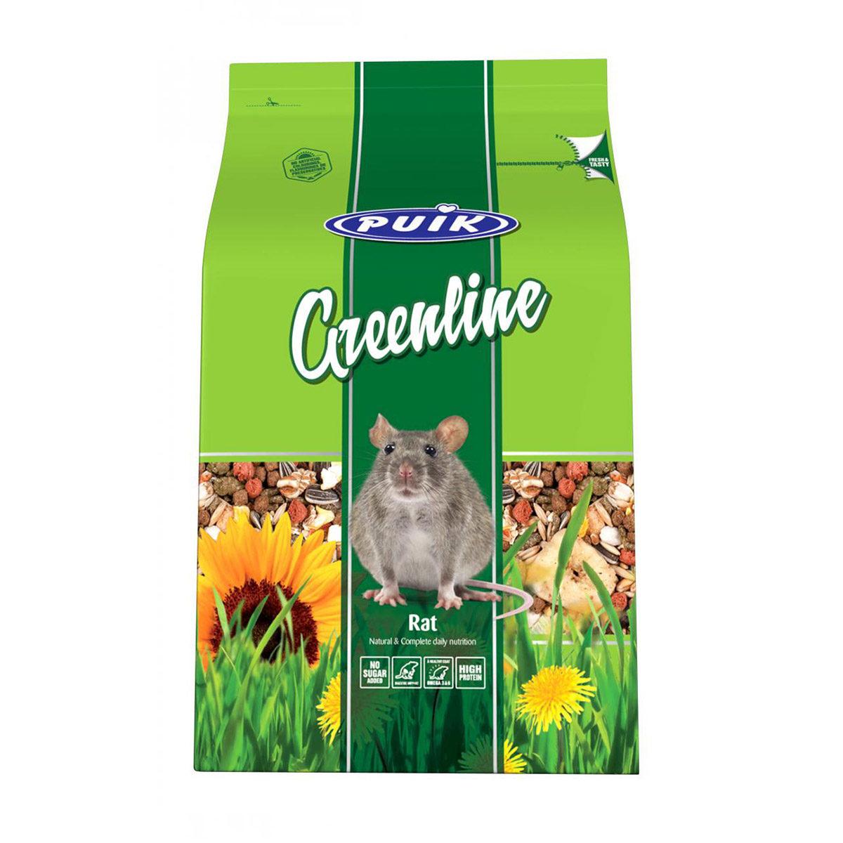 Puik Greenline Rattenvoer 800 gr