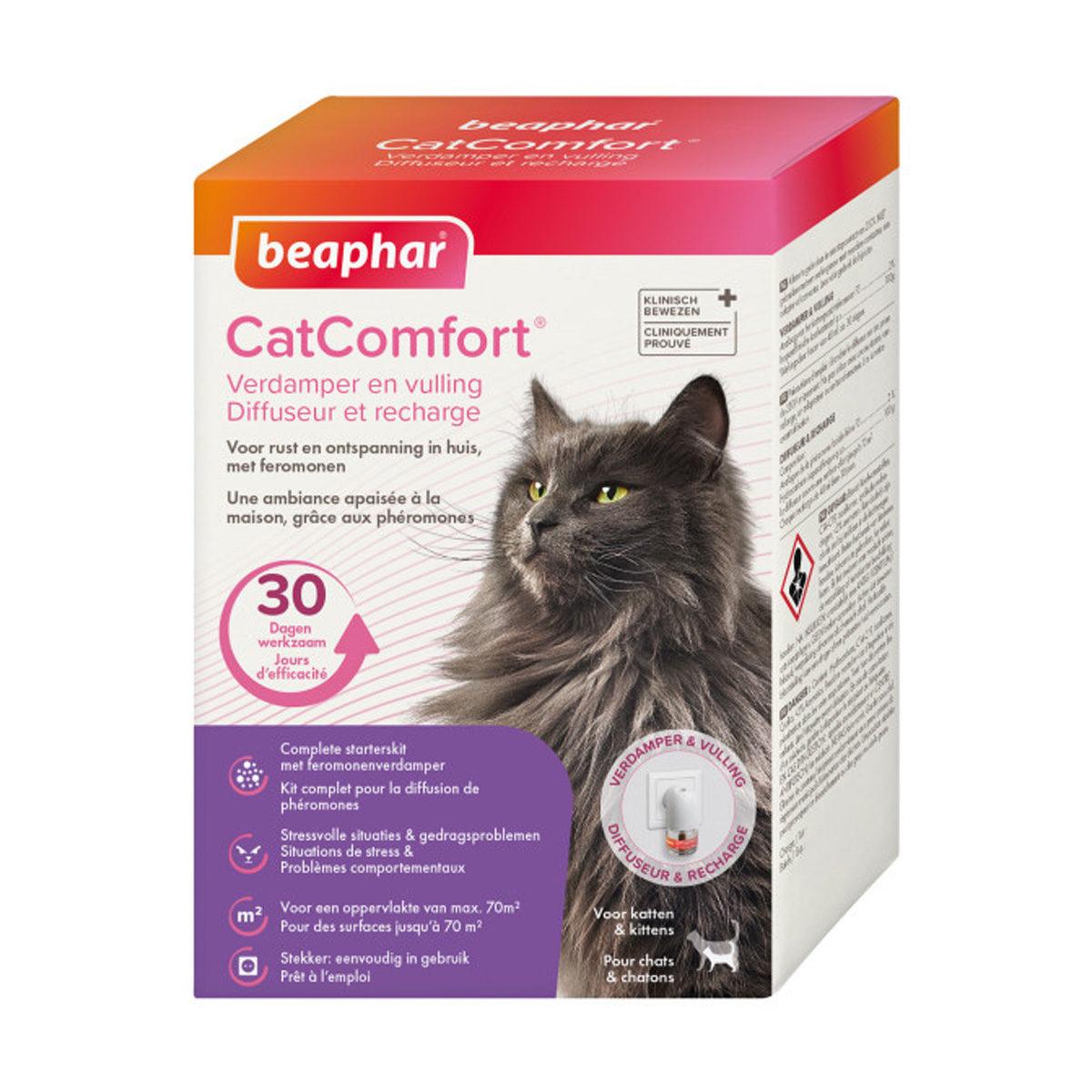 Beaphar CatComfort & Complete Starterskit Met Feromonenverdamper